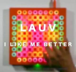 【4星】Lauv - I Like Me Better Launchpad Cover Vitacity制作的很棒的工程~也非常好听!#abletive##launchpad#