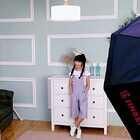 锦萱拍写真的花絮。#宝宝#