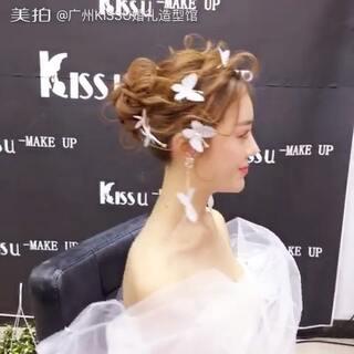 #仙女新娘造型##时尚美妆##韩式新娘造型##我要上热门@美拍小助手# 今天分享一款灵动发丝、纹理比较强的新娘造型,发丝飘逸而又不乱,非常适合新娘出门,外景或者拍片噢😘😘😘,欢迎转发点赞,喜欢就给我💗💗💗