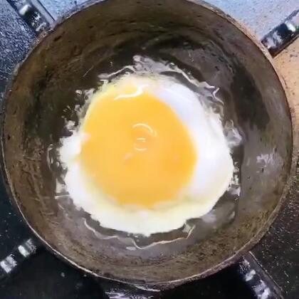#迷你厨房# 香喷喷的煎鸡蛋🍳