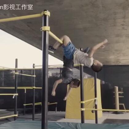 中国最酷双胞胎兄弟#美拍运动季##跑酷#