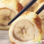 香蕉还能这么吃?裹上一层吐司片,做成超级美味的小吃!#开学季早餐表##美食##早餐#