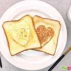 吐司里藏着鸡蛋,这样的早餐谁不爱?#开学季早餐表##美食##早餐#