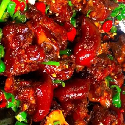 香辣猪蹄!#美食##最爱川菜##香辣猪蹄#