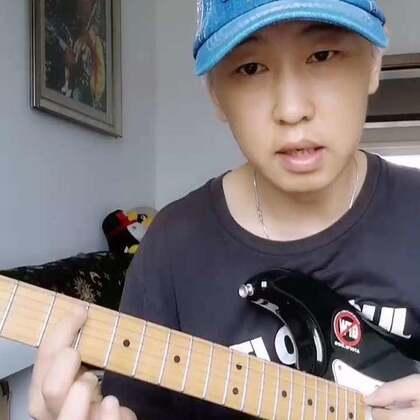 琶音的应用方法(2)大调2-5-1的和弦衔接 #音乐##吉他##琶音#