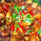 简单下饭菜芋儿鸡!#美食##川菜##下饭菜#