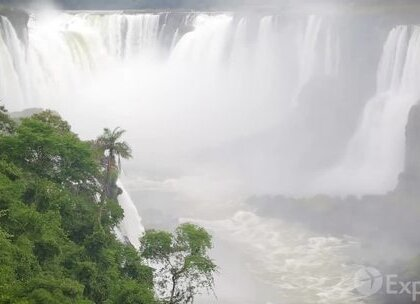 伊瓜苏瀑布的美景#旅游#