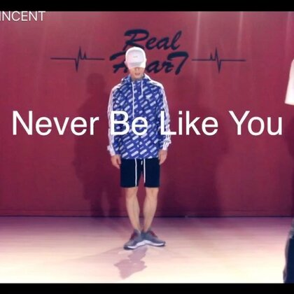 JOW VINCENT 编舞 NEVER BE LIKE YOU 一节的时间就拍了这个视频,挺COOL,60W了继续加油,谢谢大家的支持#舞蹈##JowVincent#@天津RH街舞连锁机构