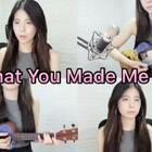 Taylor Swift《What You Made Me Do》ukulele也能弹出霉霉的暗黑风,不错吧!要不要出教程??? #音乐#