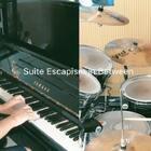 组曲-【Suite Escapism In Betwwen】这曲子弹起来打起来都过瘾🕶🕶@Drummer鼓手禹丞 @鼓手禹丞 #钢琴##爵士鼓#