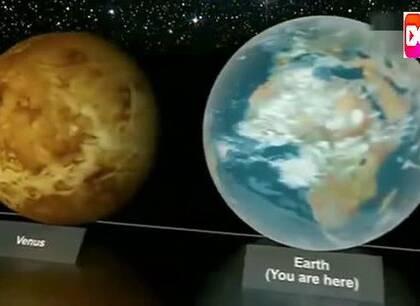 看看地球在宇宙中到底有多大!