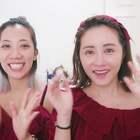 蒙眼化妆挑战!来看看这技术够不够厉害#美妆##女神##我要上热门# @美拍小助手