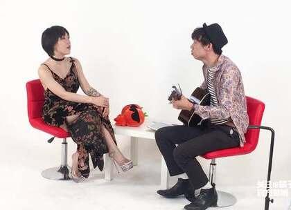 啊?采访#吴莫愁#的时候到底发生了什么?#明星#