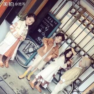 【因你爱】2018春夏发布会宣传片。四个小模特三个叫轩轩,是不是叫轩轩的都颜值这么高?#童装##童模##摄影师池涔#