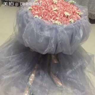 #手工##丝带花##女神必备##婚礼必备##礼物#宝宝们,花束好看吗😊😊😊😊😊😊