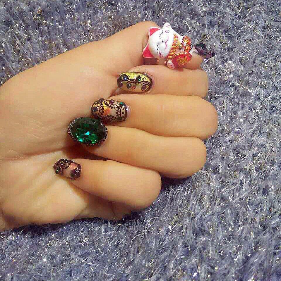 钛钢戒指纯手工制作招财猫戒指,200元全国包邮