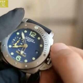 VS厂V2版本沛纳海PAM00719 探险特别限量版 全钛金属壳身,蓝宝石镜面 采用V2版本定制机芯,时针单独调校,GMT针与时针同步12小时转一圈 单向旋转表圈,47MM,完美版本