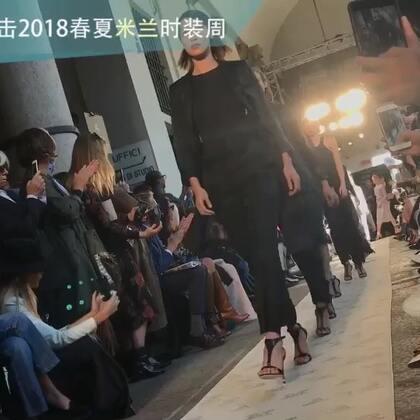 Max Mara 2018春夏系列,大衣依旧超好看,甚至还有毛巾料的大衣呢~#米兰时装周#