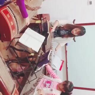 yyn箜篌.宝贝的美拍:#古筝视频日常#林爱教室初黑手党古筝图片