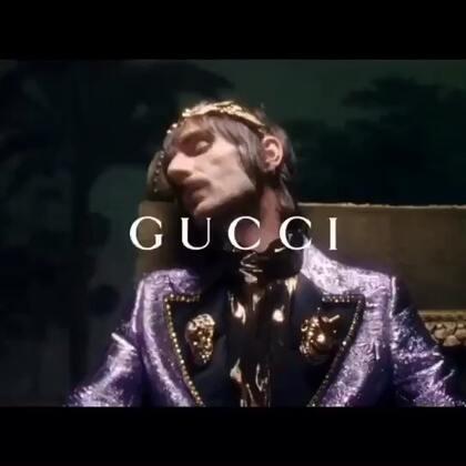 Gucci 秀后resee,近距离看这些华服,要被闪瞎~