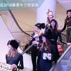 Dolce Gabbana 大秀前在商场上演时装秀,大长腿大长腿~