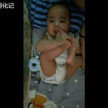 #宝宝##木木孵化记#爸爸说,我们是未来的bboy~