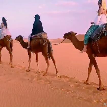 北非美少女撒哈拉#摩洛哥#自驾环游九月#旅行##女神#