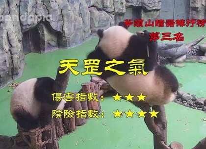 #大话熊猫# 江湖风云变幻莫测,斧头山暗器排行榜告诉你,谁,才是真正的高手!