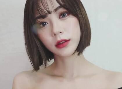 #美妆时尚##我要上热门#俏皮可爱的短发少女妆容,你一定要学!😘😘#短发妆容#