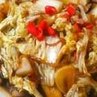 酸辣大白菜 下饭神奇#美食##家常菜##酸辣大白菜#
