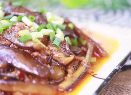 #美食##鱼香茄子##家常菜#这样做的茄子比肉还香,让我连吃三碗饭还不想停.....