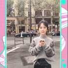 #杨紫#一起来看小猴紫在巴黎街头的魔性舞~看完都想跟着跳起来啦!