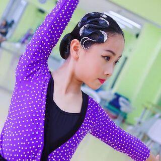 #直播舞蹈##少儿拉丁舞##苏涵涵# 常熟菁英舞蹈明星选手班课堂直播-苏涵涵12岁生日快乐🎂