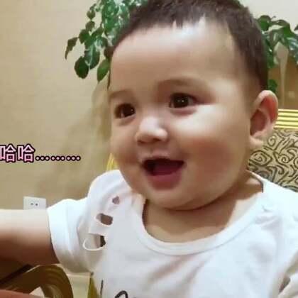 #我家的萌萌兔宝贝#魔性笑声^_^六个月的小侄子,特别爱笑#宝宝#
