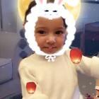 #兔子妆##我家的萌萌兔宝贝##中秋快乐#😘😘小兔子果冻祝大家中秋快乐😙😙