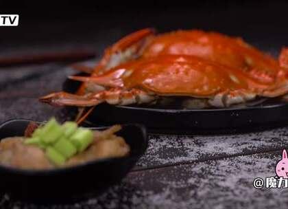 五花肉邂逅梭子蟹#魔力美食##美食##梭子蟹#