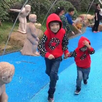 #一步一年##年 三岁##带着美拍去旅行#终于晴了一天,郑州新开的园博园逛一逛