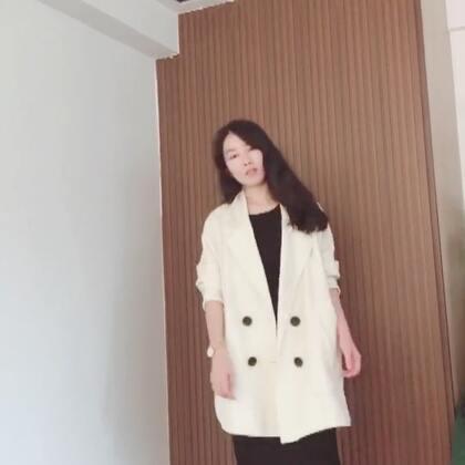 近几年超流行的oversize款西装外套,你有吗?😜#穿秀##我要上热门@美拍小助手#