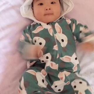 #我家的萌萌兔宝贝#豆豆