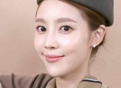 #美妆时尚##我要上热门#韩亚航空空姐妆容,伪素颜原来辣么美!😍😍#空姐妆容#