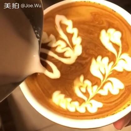 #原创##咖啡拉花#我要上热门@美拍小助手#喜欢的朋友点个赞,欢迎交流学习