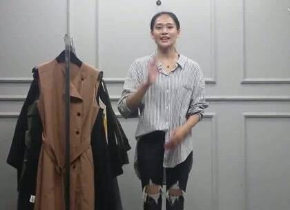 #女装批发#10月9日 杭州越袖服饰(风衣外套系列)多份 30件 1280元
