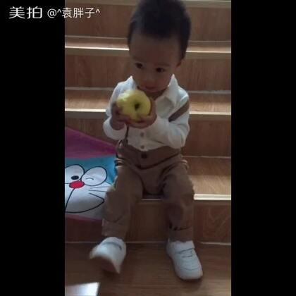 #宝宝##萌宝宝##吃秀#