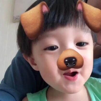 大舌头好恐怖呀#宝宝##萌宝宝#