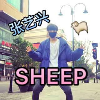 #张艺兴sheep舞#💥艺兴超帅啊!作为一个小迷弟🇨🇳 #舞蹈#版刚出来就开始扒了! #和张艺兴有戏#🙈我也来学男神在街上浪一波~🙏拜托大家🔥点赞转发🔥 求男神翻牌子@努力努力xxxx ❤️❤️