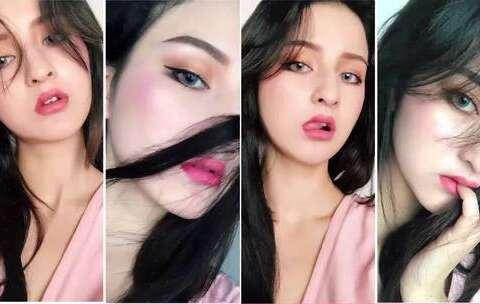 【杨宛美拍】化了个妆简直换个脸!宛的化妆邪...