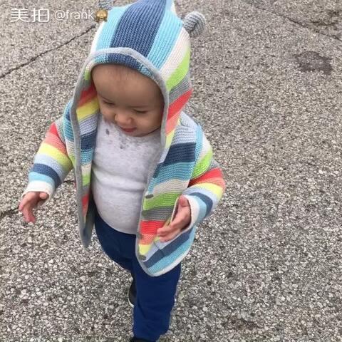 【frank🙈美拍】好冷呀!一岁7天