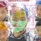 一天之内把头发染成七种颜色!你觉得头发什么颜色最好看呢?#作死##搞笑##我要上热门@美拍小助手#