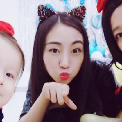 今天参加好朋友兔兔姐姐的5岁生日主题派对🎉也是我们家人生中第一次cosplay 大人孩子都玩的太开心了😆#r熙34个月#+27 #宝宝#