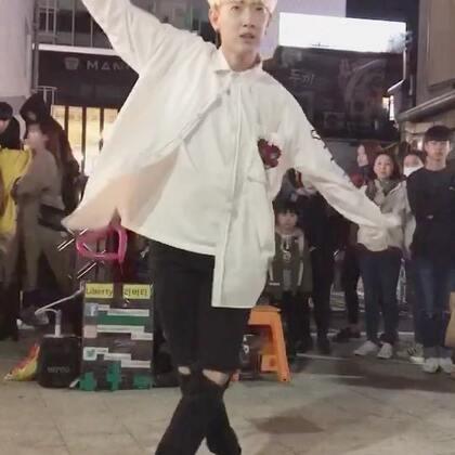 #liberty##李在奂##hwan##wanna one-energetic#(20171014弘大公演)李在奂跳舞 真是帅死了